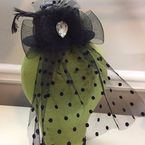 Mini Victorian Top Hat with Embellishments